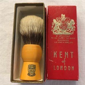 Kent of London Pure Badger Shaving Brush, NIB